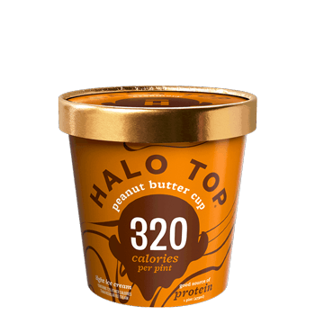 Halo Top Ice Cream Peanut Butter Cup 16oz. - East Side Grocery
