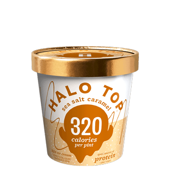 Halo Top Ice Cream Sea Salt Caramel 16oz. - East Side Grocery