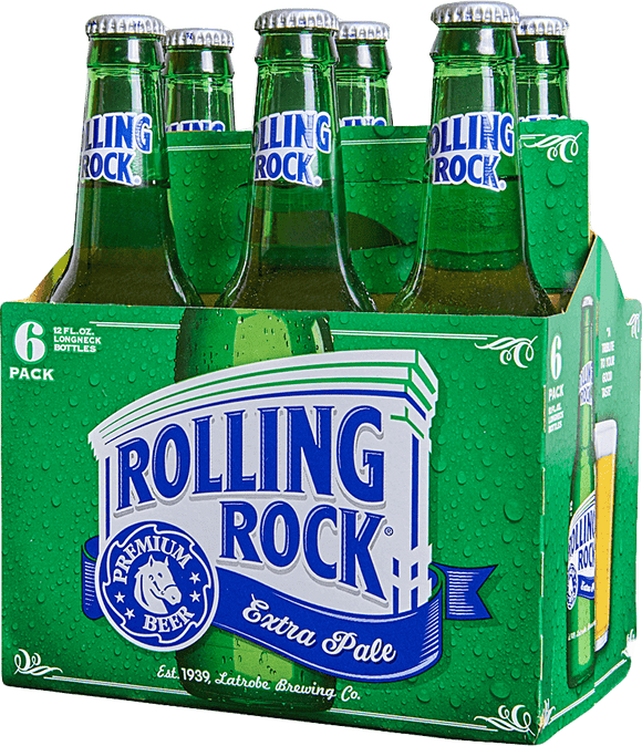 Rolling Rock Extra Pale 12oz. Bottle - East Side Grocery