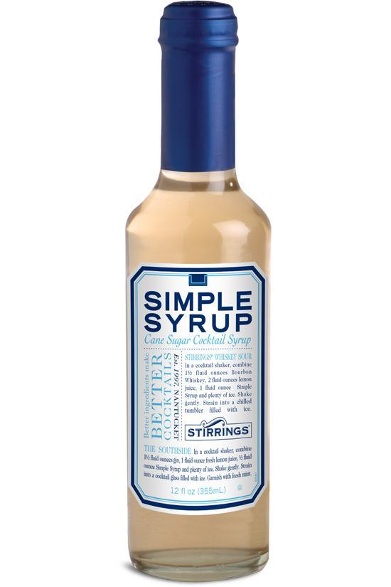 Stirrings Simple Syrup - 12 oz. - East Side Grocery