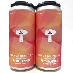 Fifth Hammer Sonic Architecture Wave 9 16oz. Can - East Side Grocery