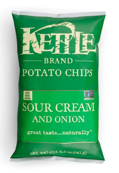 Kettle Chips Sour Cream Onion 5oz. - East Side Grocery