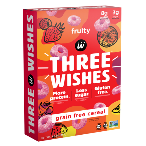 Three Wishes Cereal 8.6oz.