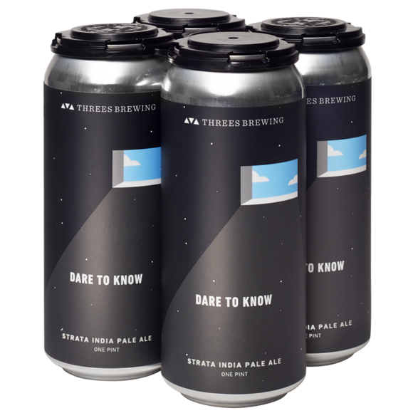 Threes Brewing Dare to Know 16oz. Can