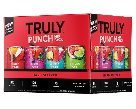 Truly Hard Seltzer Punch Variety Pack 12oz. Can