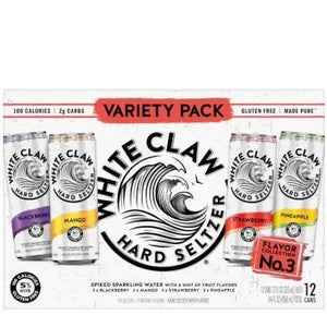White Claw Variety Pack Flavor No.-3 12oz. Can