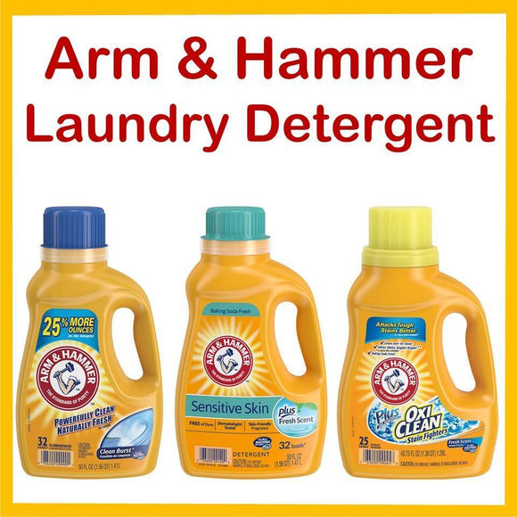 Arm & Hammer Laundry Detergent 50oz. Special - East Side Grocery