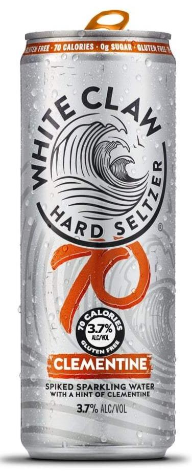 White Claw Hard Seltzer Clementine 70 Cal. 12oz. Can - East Side Grocery