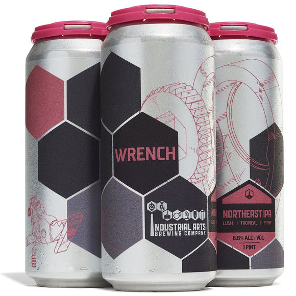 Industrial Arts Wrench IPA 16oz. Can - East Side Grocery