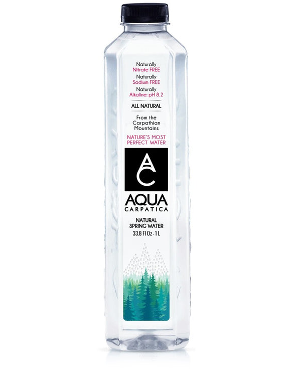 Aqua Carpatica Water 1 Liter - East Side Grocery