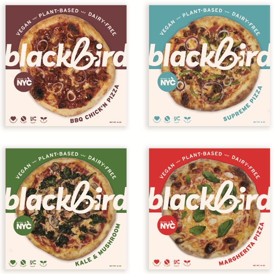 Blackbird Hand Tossed Pizza 14oz. - East Side Grocery