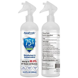 Aura Fresh Disinfectant Spray 16.9oz. - East Side Grocery
