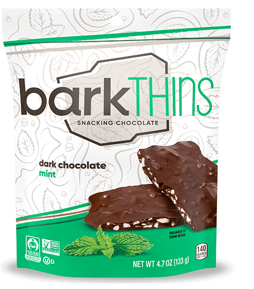 Bark Thins Dark Chocolate Mint 4.7oz. - East Side Grocery