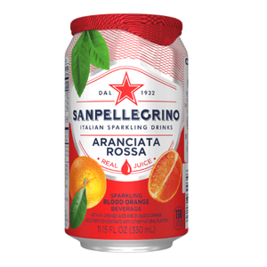 Sanpellegrino Aranciata Rossa 11.15oz. Can - East Side Grocery