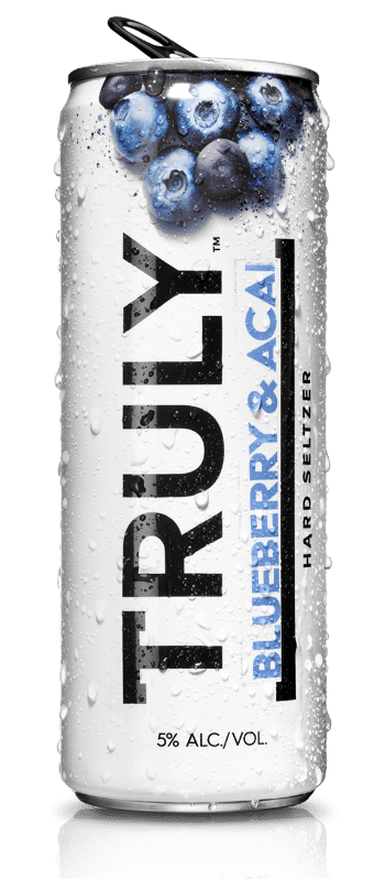 Truly Hard Seltzer Blueberry Acai 12oz. Can - East Side Grocery