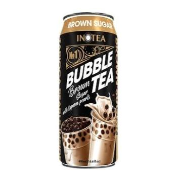 INOTea Bubble Tea Brown Sugar 16.9oz. - East Side Grocery