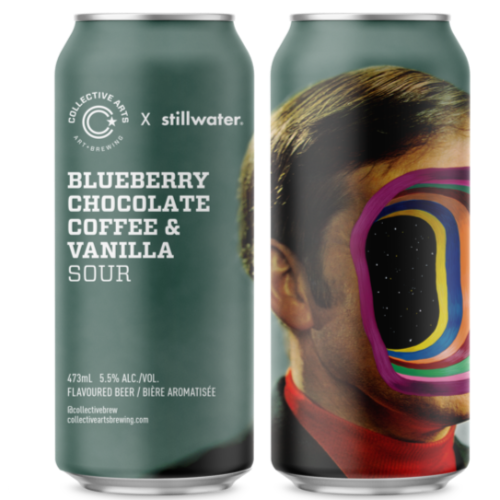 Collective Arts Blueberry Chocolate Coffee & Vanilla 16oz. Can