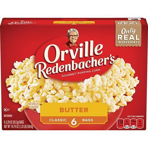 Orville Redenbacher's Microwave Popcorn 6 Pack - East Side Grocery
