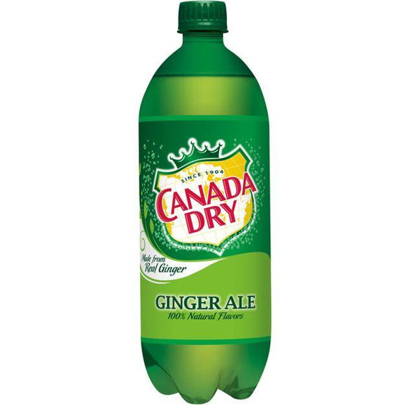 Canada Dry Ginger Ale 1 Liter - East Side Grocery