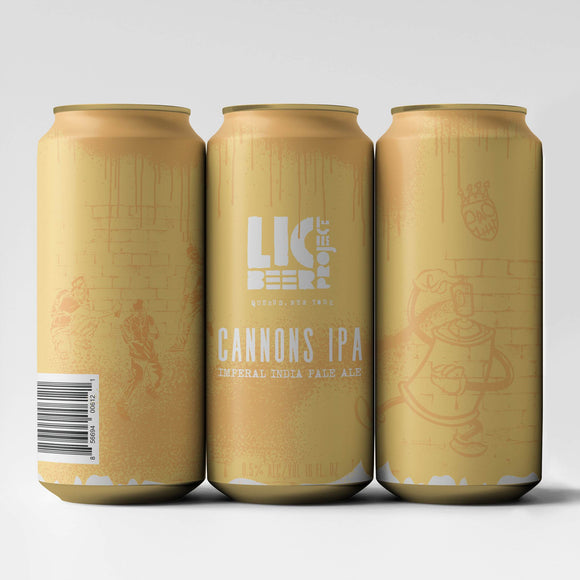 LIC Cannons 16oz. Can - East Side Grocery