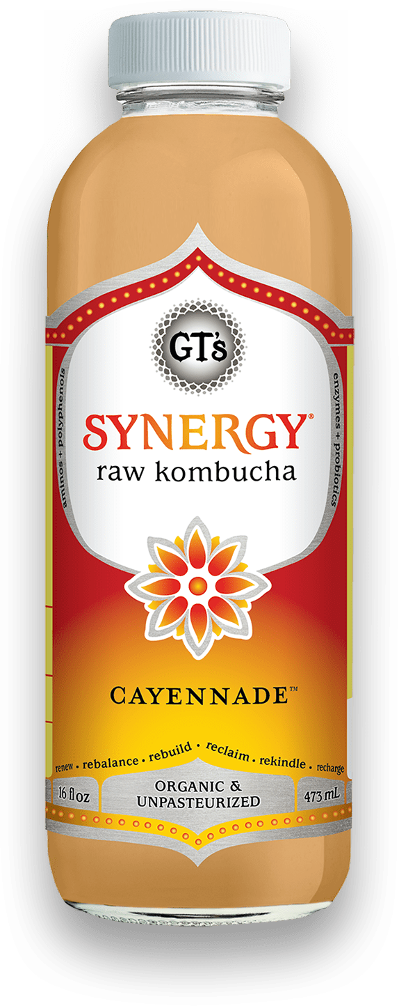 GT'S Enlightened Kombucha Cayennade 16oz. - East Side Grocery