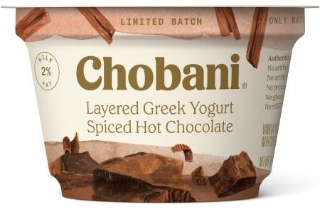 Chobani Greek Yogurt 2% Spiced Hot Chocolate 5.3oz