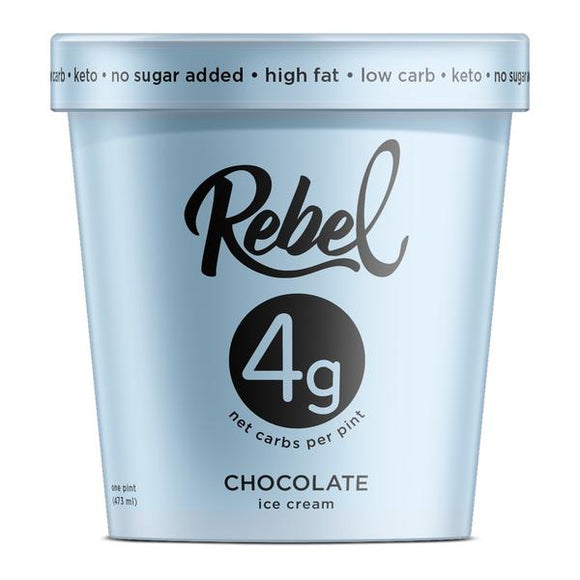Rebel Ice Cream Chocolate Pint - East Side Grocery