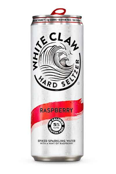 White Claw Hard Seltzer Raspberry 12oz. Can - East Side Grocery