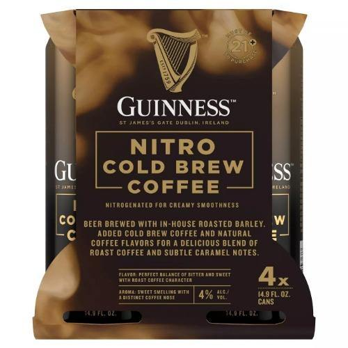 Guinness Nitro Cold Brew Stout 14.9oz. Can - East Side Grocery
