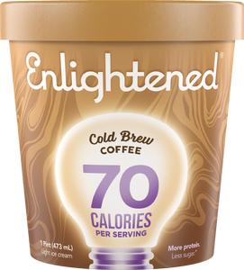 Enlightened Ice Cream Cold Brew Coffee 1 Pint - East Side Grocery
