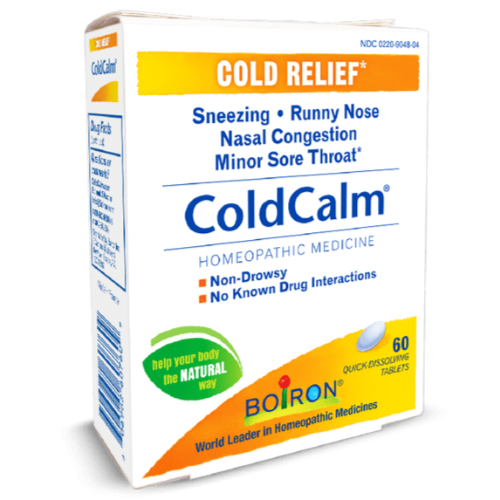 Boiron Cold Calm 60 Tablet - East Side Grocery