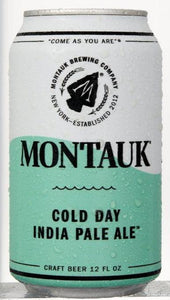 Montauk Cold Day IPA 12oz. Can - East Side Grocery