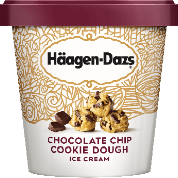 Haagen Dazs Ice Cream Chocolate Chip Cookie Dough 14oz.