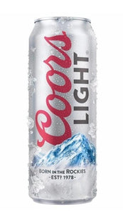 Coors Light 24oz. Can - East Side Grocery