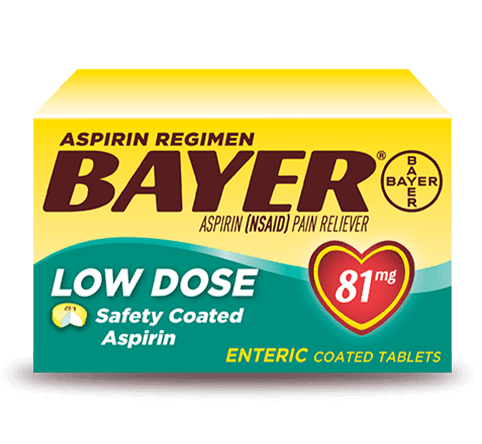 Bayer Aspirin Low Dose - 32 Count - East Side Grocery