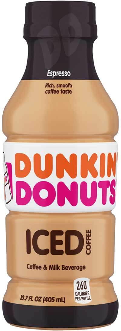 Dunkin' Donuts Iced Coffee Espresso 13.7oz - East Side Grocery