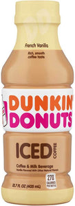 Dunkin' Donuts Iced Coffee French Vanilla 13.7oz - East Side Grocery
