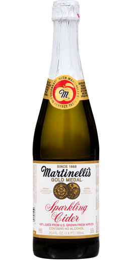 Martinelli's Sparkling Apple Cider 25.4oz. - East Side Grocery