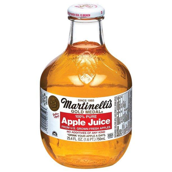 Martinelli's 100% Pure Apple Juice 24.4oz. - East Side Grocery