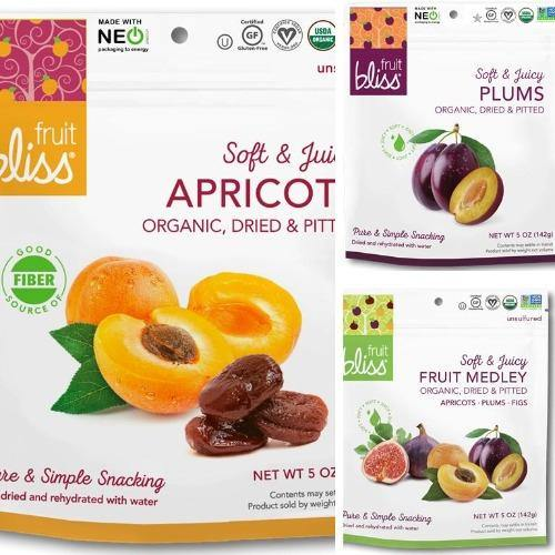 Fruit Bliss Organic Dried Fruit 5oz. - East Side Grocery
