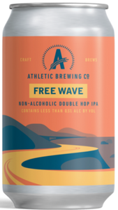 Athletic Free Wave -Alcoholic 12oz. Can