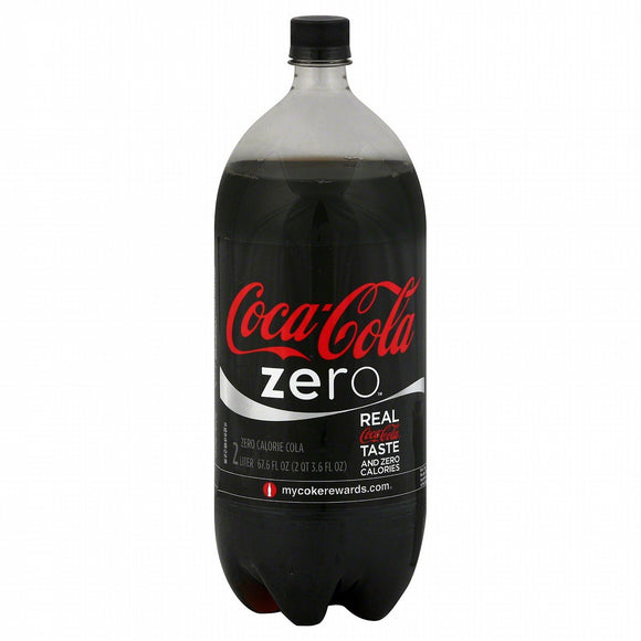 Coca Cola Zero 2 Liter - East Side Grocery