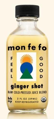 Mon Fe Fo Ginger Shot 2oz. - East Side Grocery