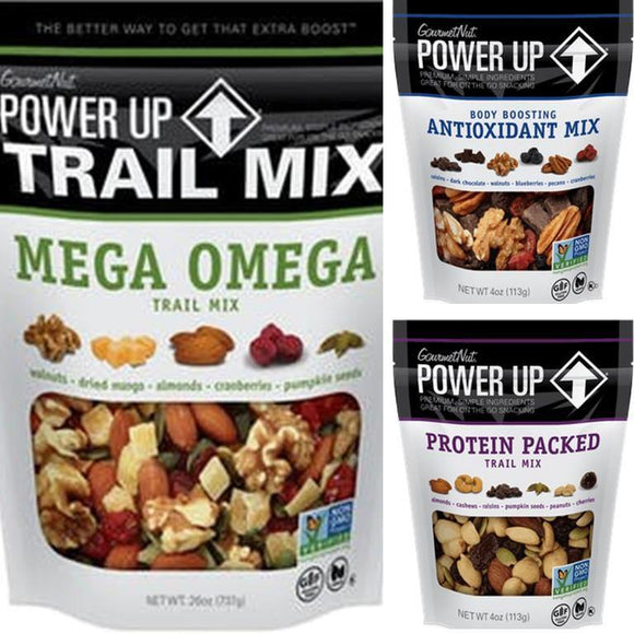 Gourmet Nut Power Up Nut Mix 14oz. - East Side Grocery