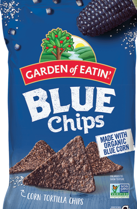 Garden of Eatin'  Blue Corn Tortilla Chips 8.1oz. - East Side Grocery