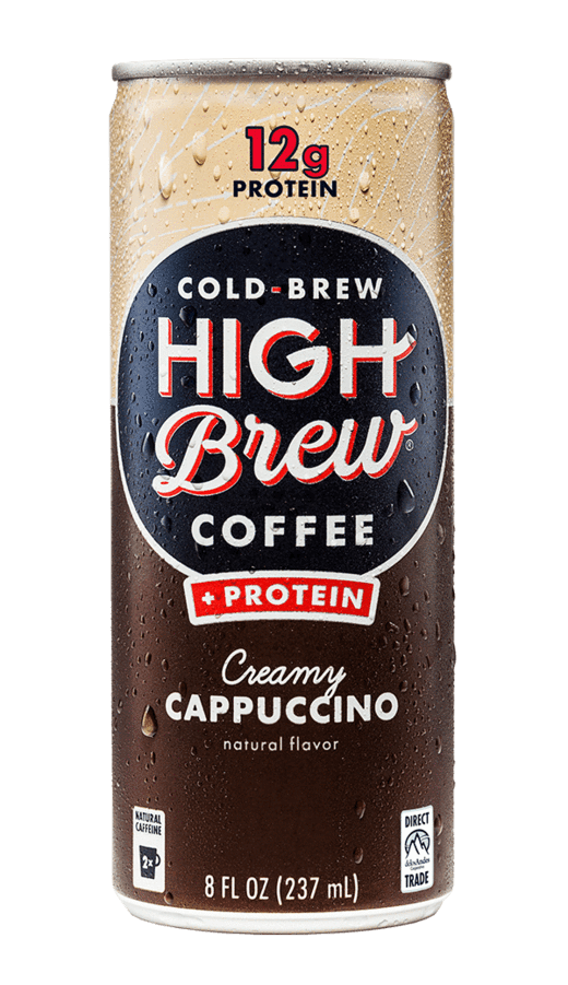 High Brew Cold Brew Coffee Creamy Cappuccino 8oz. Can - East Side Grocery