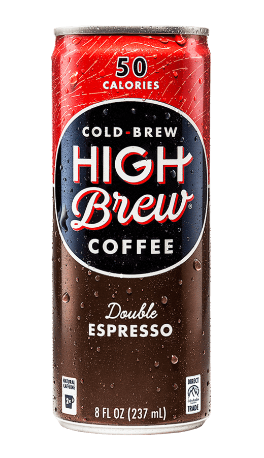 High Brew Cold Brew Coffee Double Espresso 8oz. Can - East Side Grocery