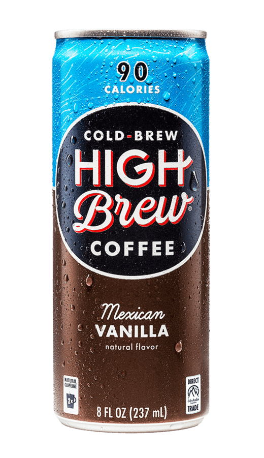 High Brew Cold Brew Coffee Mexican Vanilla 8oz. Can - East Side Grocery