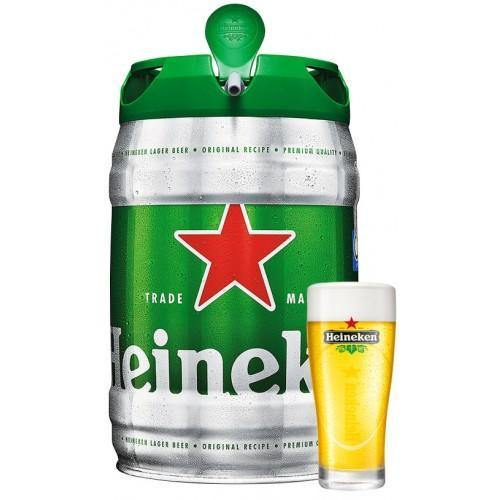Heineken Larger Beer Mini Keg 5 Liter - East Side Grocery