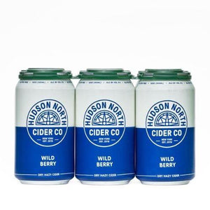 Hudson North Cider Wild Berry 12oz. Can - East Side Grocery